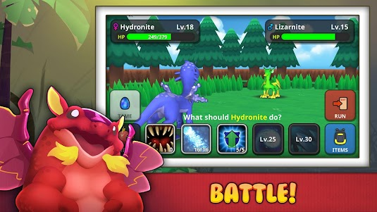 Drakomon - Battle & Catch Dragon Monster RPG Game 1.3 screenshot 2