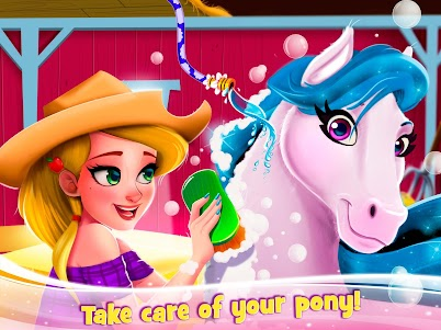 Newborn Horse Pet Care - Baby Foal Animal Salon 1.0.0 screenshot 5
