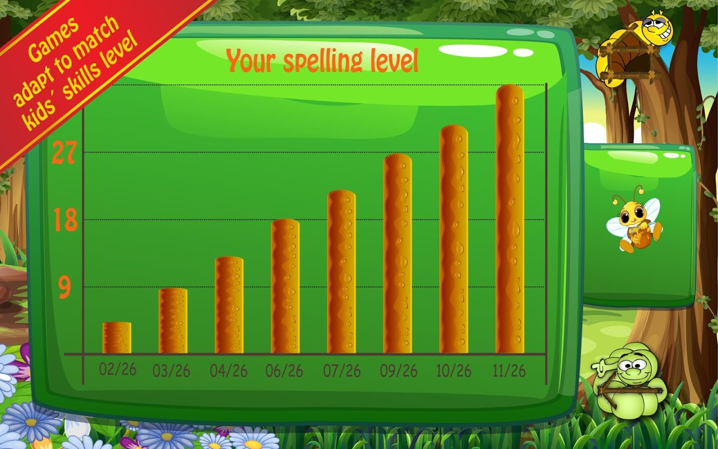 Spelling Bug 1st Grade Words 2 1 0 APK Download Android