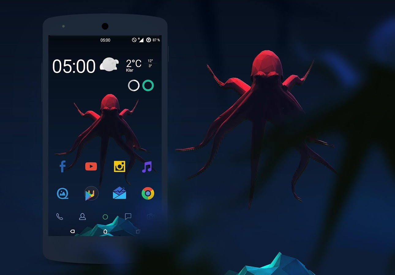 BLACK OCTOPUS // CM 12 1 2 6 APK Download - Android