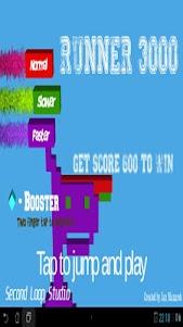 Runner 3000 1.0 screenshot 1