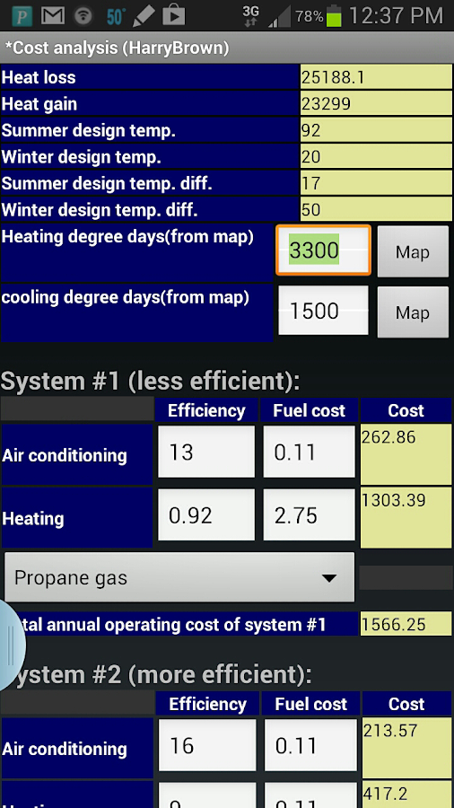EMS HVAC Load Calculator 1 22 APK Download - Android