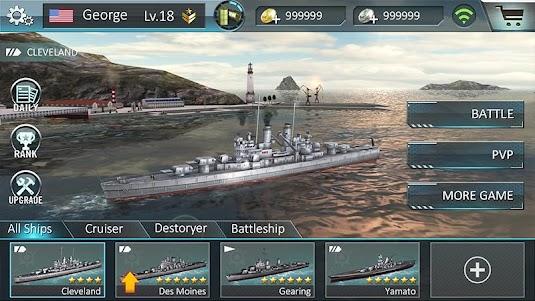 Warship Attack 3D 1.0.6 screenshot 5