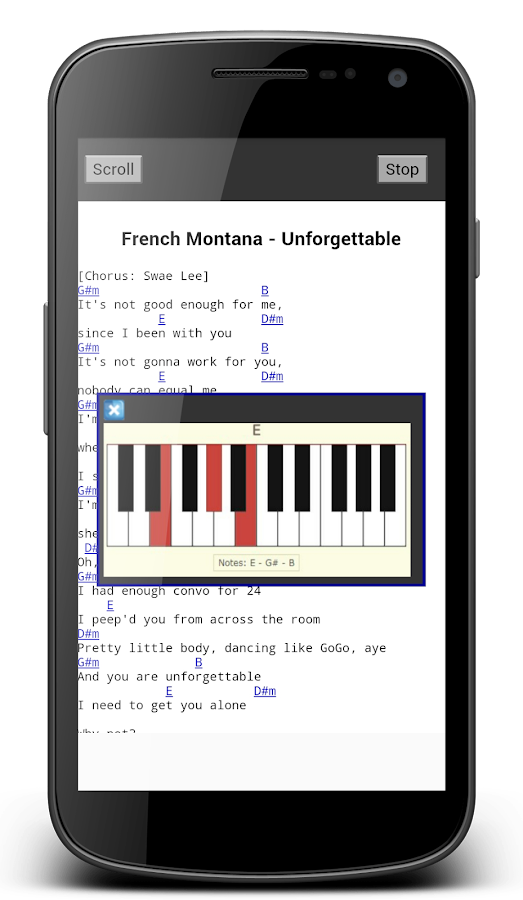 Piano Chords and Lyrics Offline 2.0 APK Download - Android Lifestyle ...