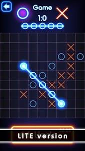 Tic Tac Toe glow - Free Puzzle Game 2.0 screenshot 11