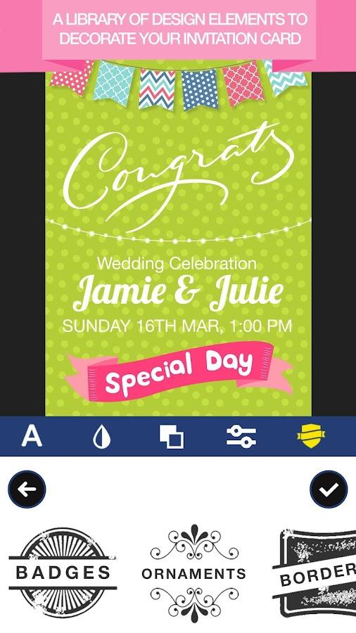 Invitation maker invite maker flyer creator 109 apk download invitation maker invite maker flyer creator 109 screenshot 3 stopboris Image collections