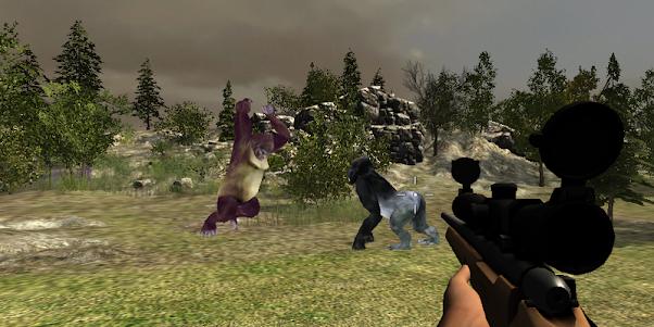 Gorilla Hunter Simulator 2015 1.9 screenshot 11