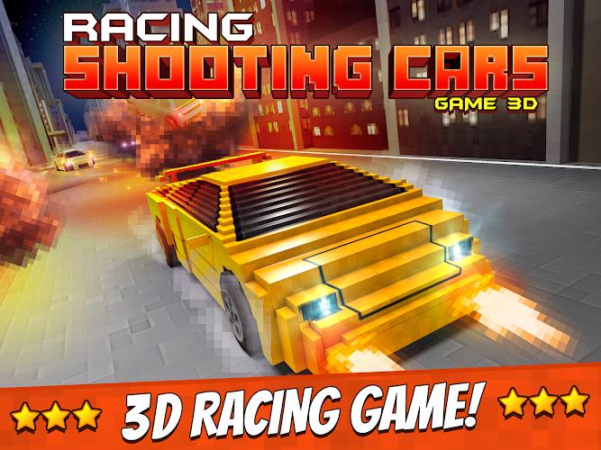 Racing shooting cars games 3d 1 0 0 screenshot 5