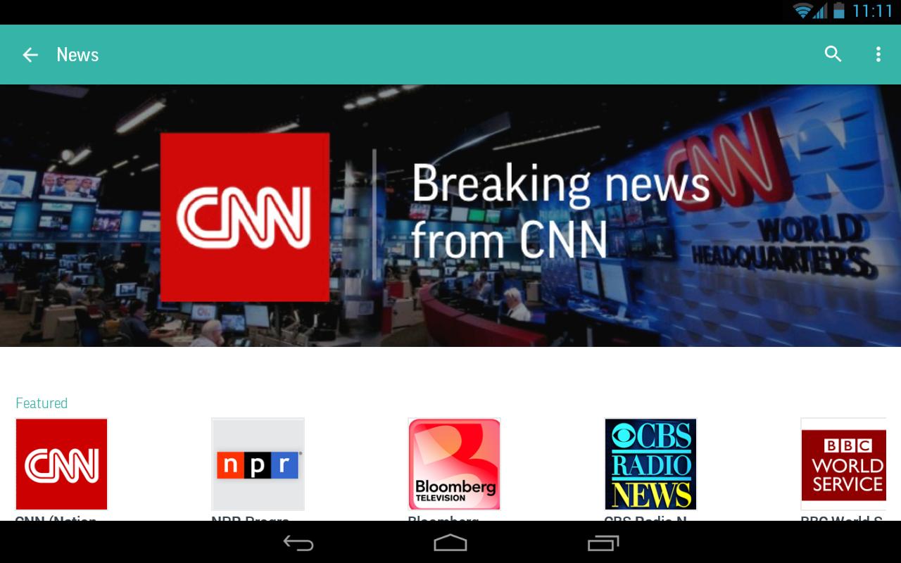 Tunein Radio Android