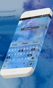 Dainty weather Keypad Theme 1.3 screenshot 7