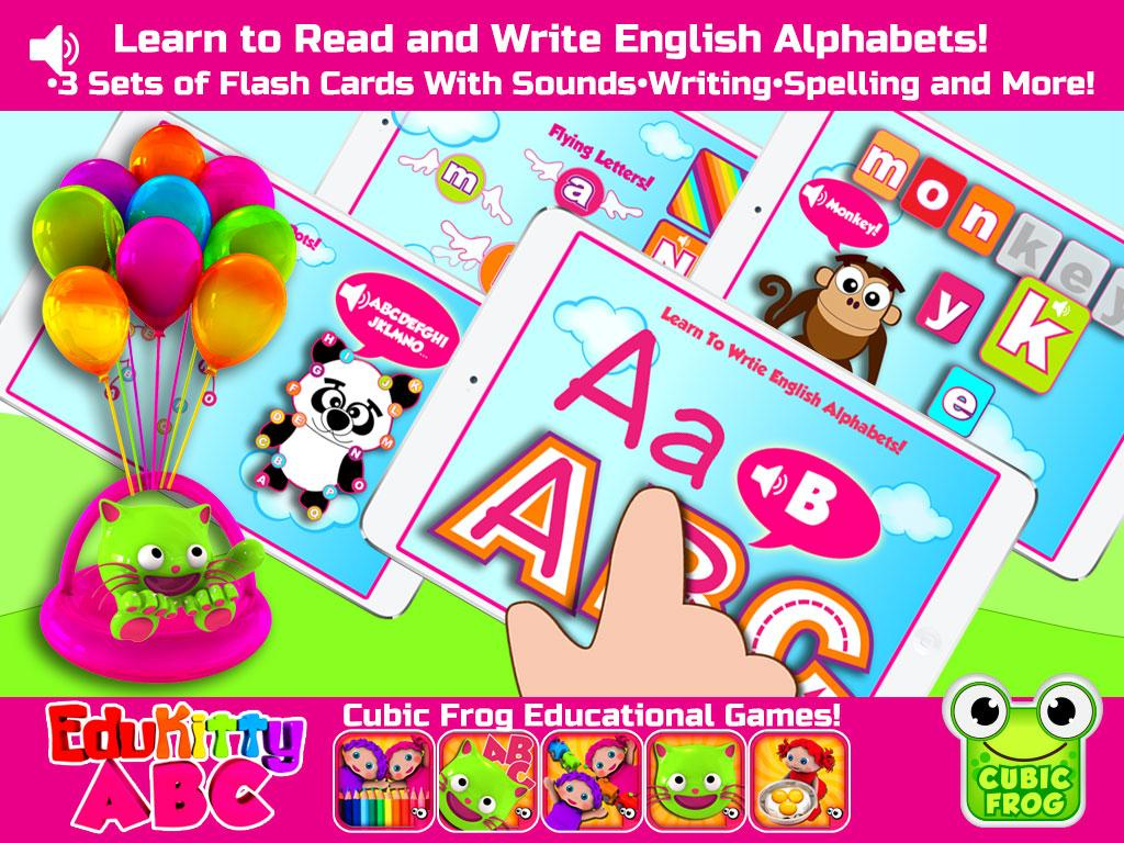 Letter Tracing Apps.Edukitty Abc Letter Tracing 7 7 Apk Download Android
