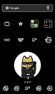 Angry animal(Dog) Dodol Theme 4.1 screenshot 1