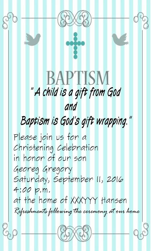 Baptism invitation maker 10011 apk download android social apps baptism invitation maker 10011 screenshot 2 stopboris Images