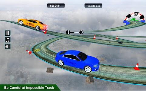 Impossible Stunt Space Car Racing 2018 1.0 screenshot 2