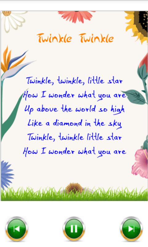 Best 50 Nursery Rhymes Kids 1 0 Screenshot 4
