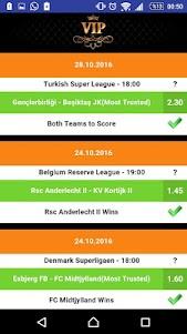 Wed Betting Tips 8.0 screenshot 4