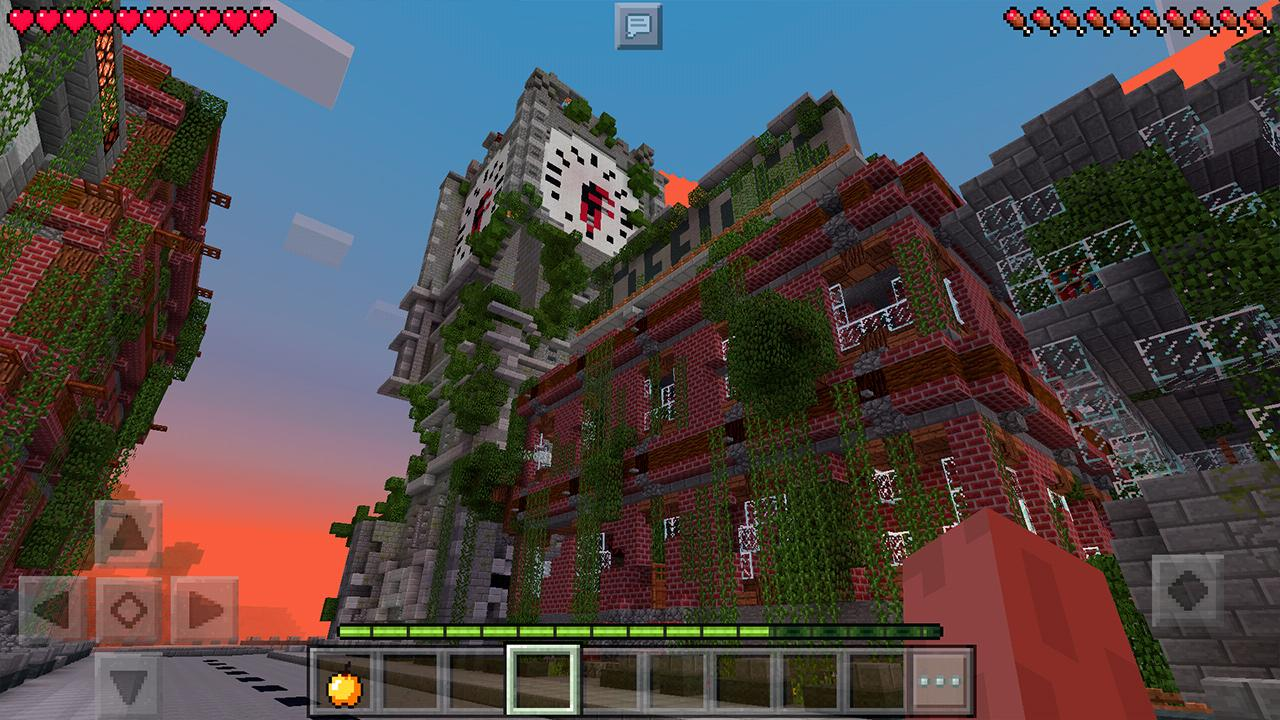 Apocalyptic City Survival Maps For Minecraft Pe 1 3 Apk Download