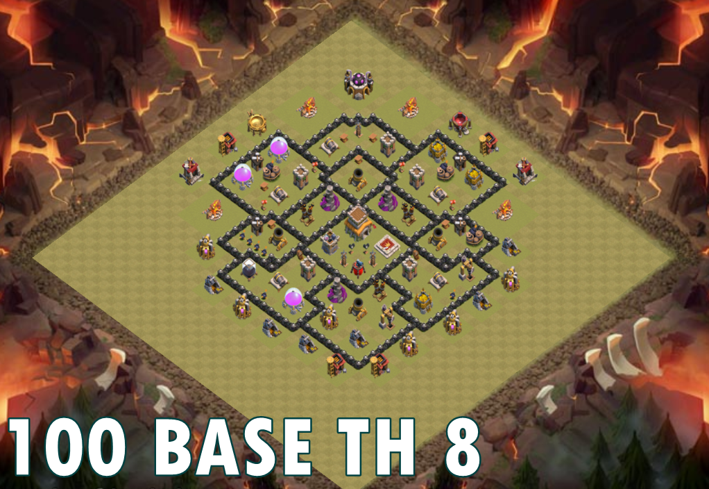 War Base Coc Th 6 Th 11 1 0 Apk Download Android Books