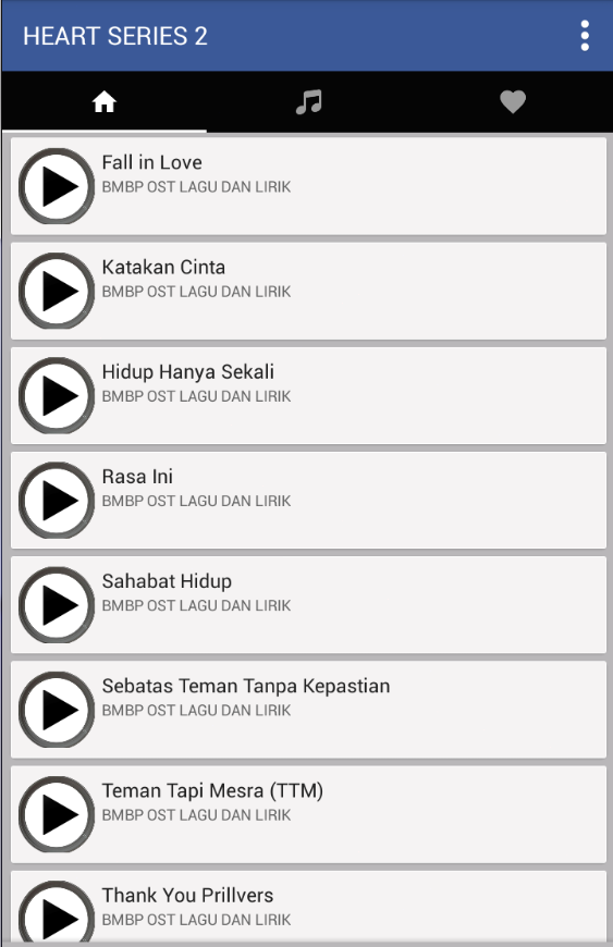 Lagu Heart Series 2 Ost+Lirik 1 0 0 APK Download - Android Music
