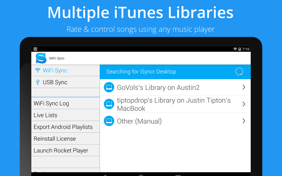iSyncr for iTunes 5 14 94 APK Download - Android Music & Audio Apps