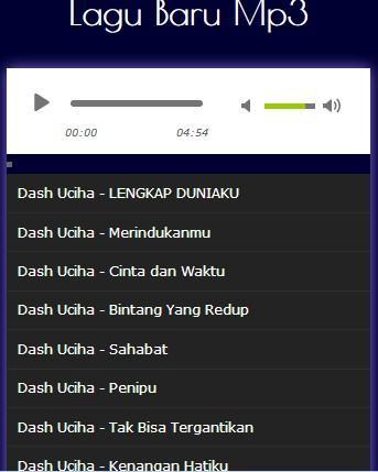 Download lagu merindukan mu dash uciha