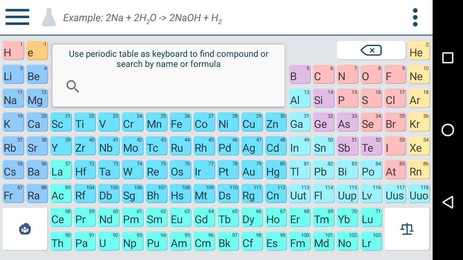 Chemik - Chemistry Homework Helper 3 9 1 APK Download