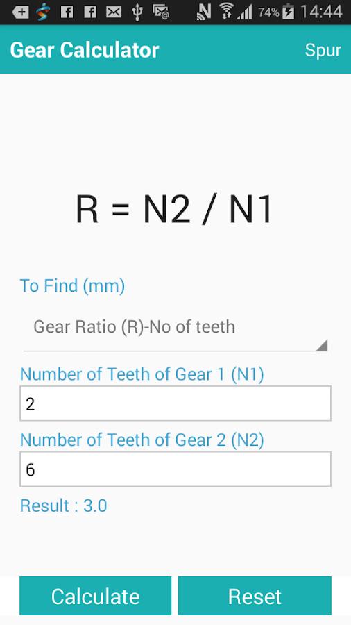 Gear Design Calculator 1 0 APK Download - Android Tools Apps