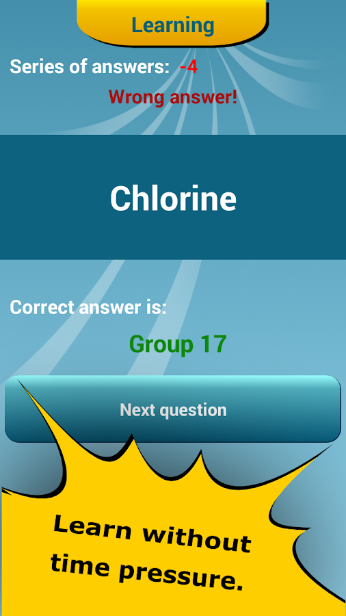 Periodic table quiz 246 apk download android education apps periodic table quiz 246 screenshot 23 urtaz Image collections