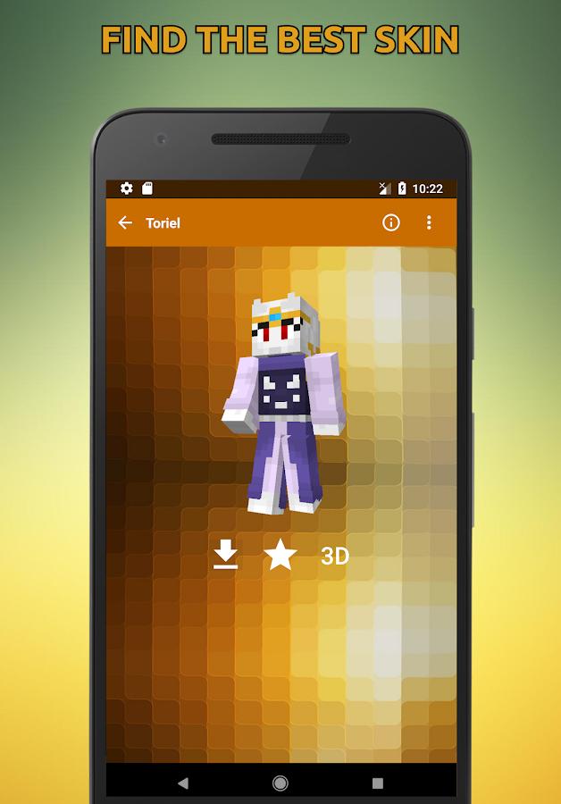 Skins Undertale For Minecraft D APK Download Android - Skins para minecraft orochimaru