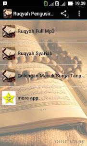 Ruqyah Pengusir Syaiton 1.0 screenshot 1