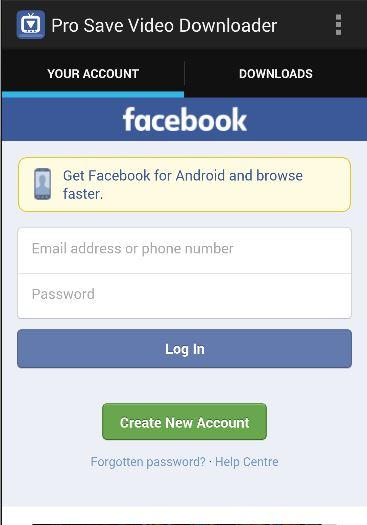 Pro video downloader for fb Settings APK Download - Android