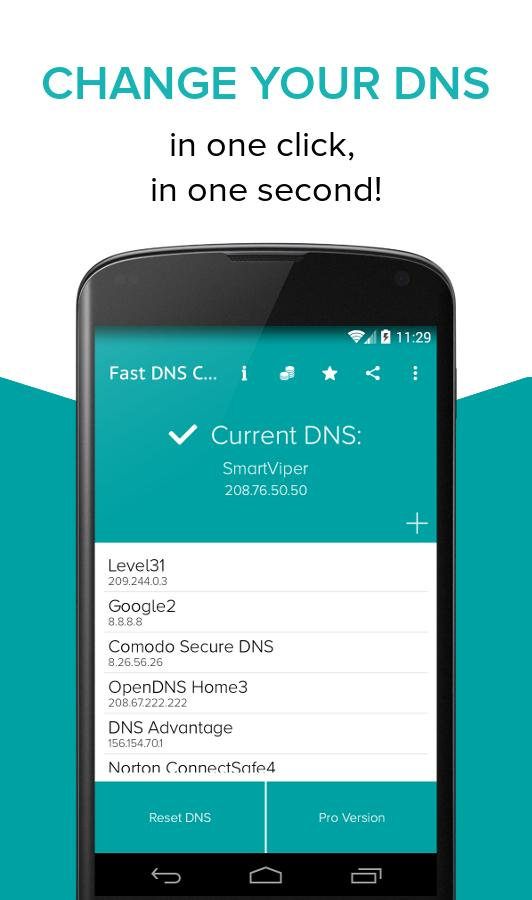 Fast DNS Changer(no root) 1 5 APK Download - Android Tools Apps