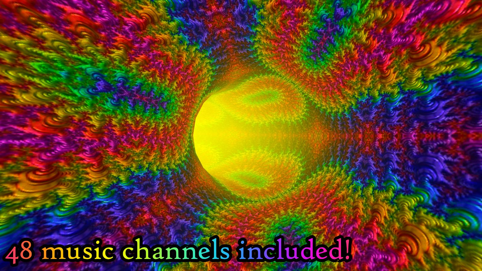 Fractal Tunnels Music Visualizer Live Wallpaper 143 Apk