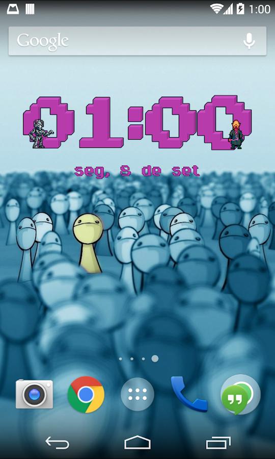 Doctor Who Pixel Clock Widget 1 5 APK Download - Android