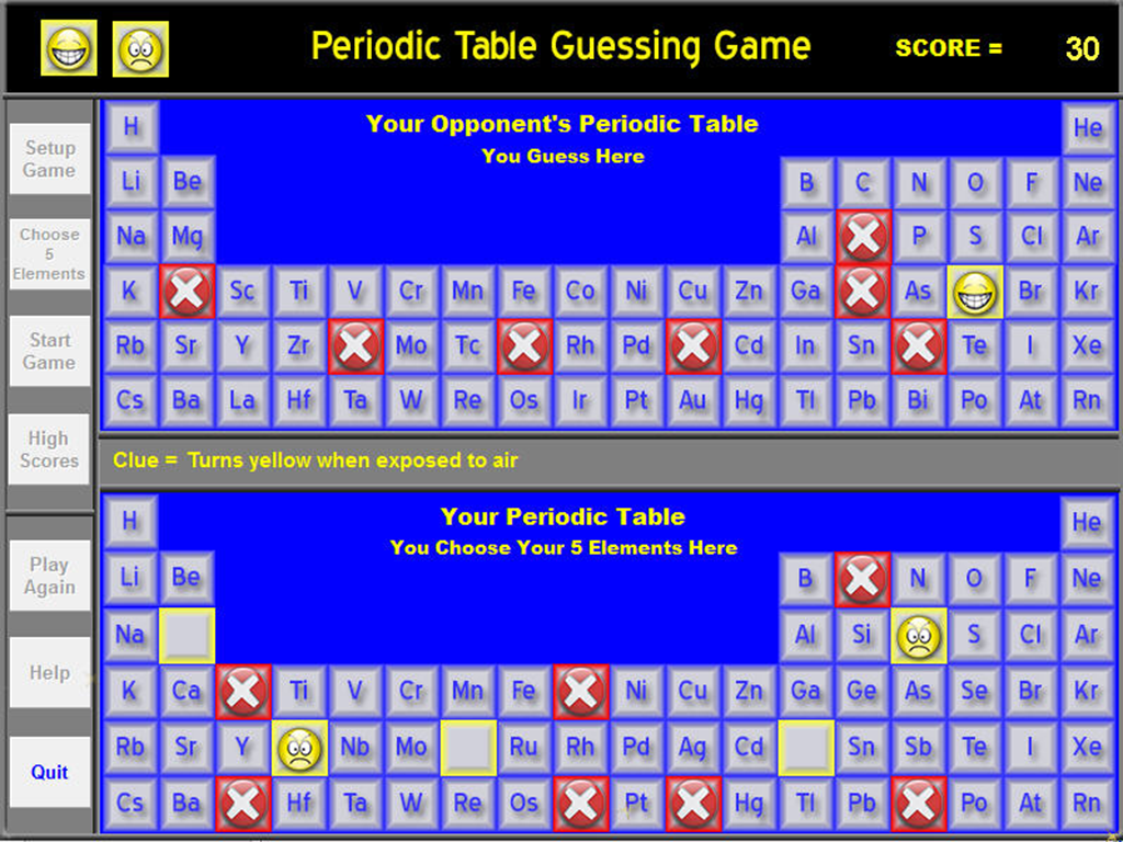 Chemistry periodic table game 3 apk download android educational games chemistry periodic table game 3 screenshot 2 urtaz Images