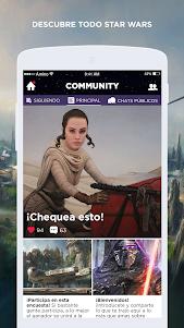 Star Wars Amino en Español 1.8.19820 screenshot 2
