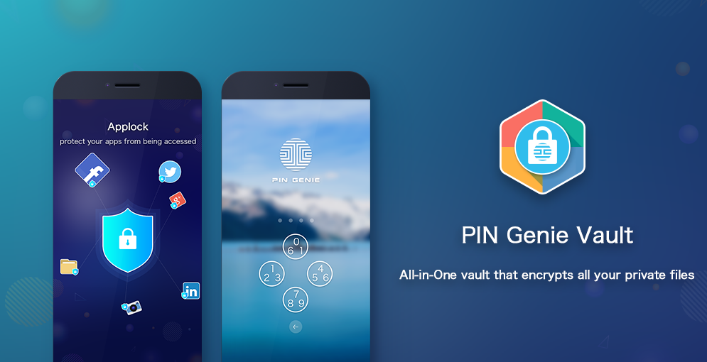 PIN Genie Vault- Applock, Hide Apps, Photo & Video 1 1 5GP