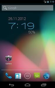 ClockQ - Digital Clock Widget  screenshot 1