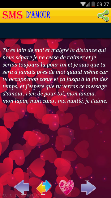 Sms Damour 2017 30 Apk Download Android Books