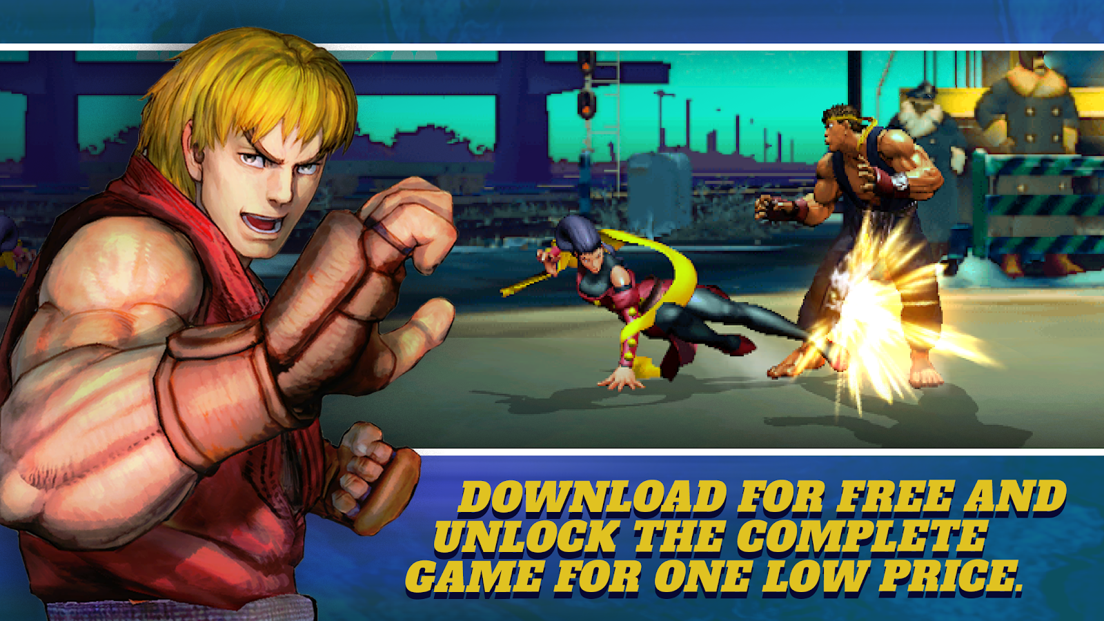 Street Fighter IV Champion Edition 1 01 02 APK Download