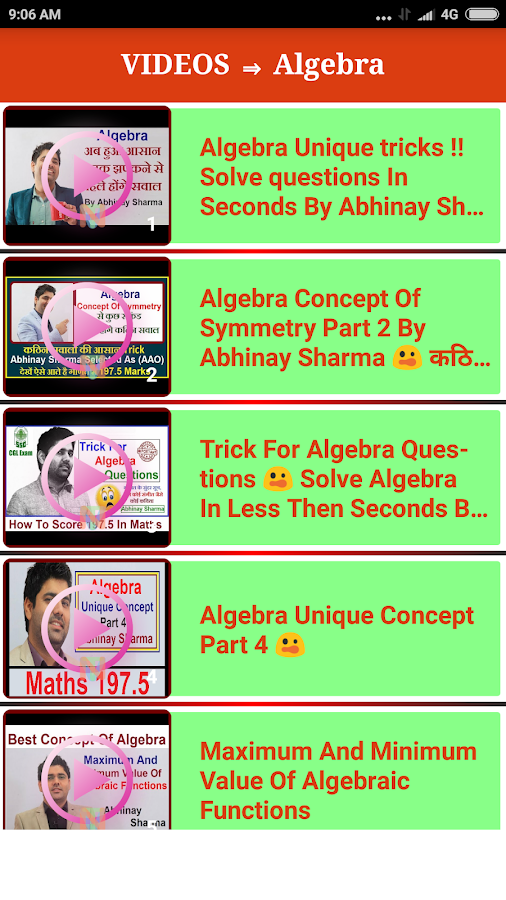 Math Tricks Videos 1 0 APK Download - Android Education Apps