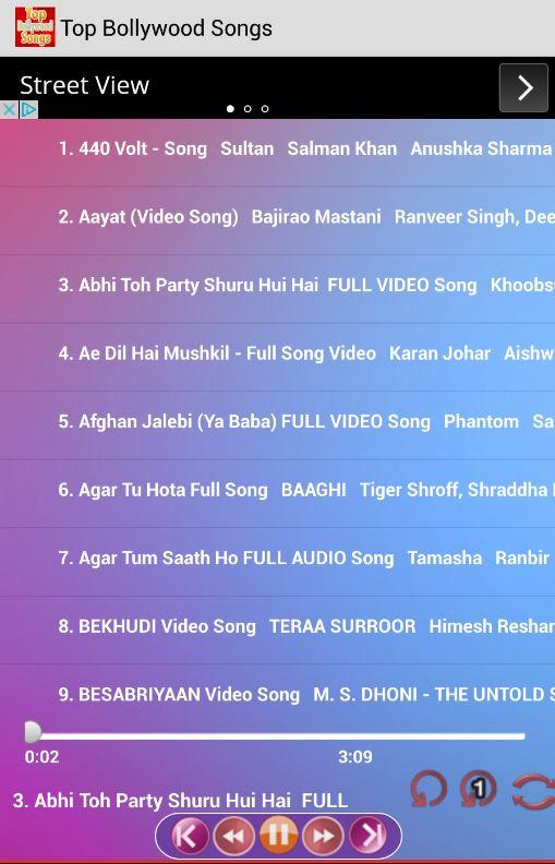 Top Bollywood Songs Free 4.3 APK Download - Android Music & Audio Apps