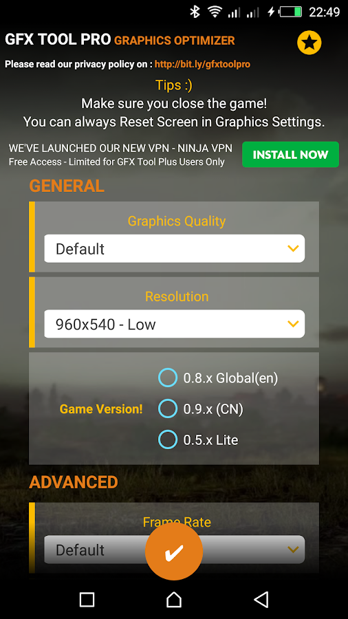 tool pubg gfx 7 1 0 APK Download - Android cats  Apps