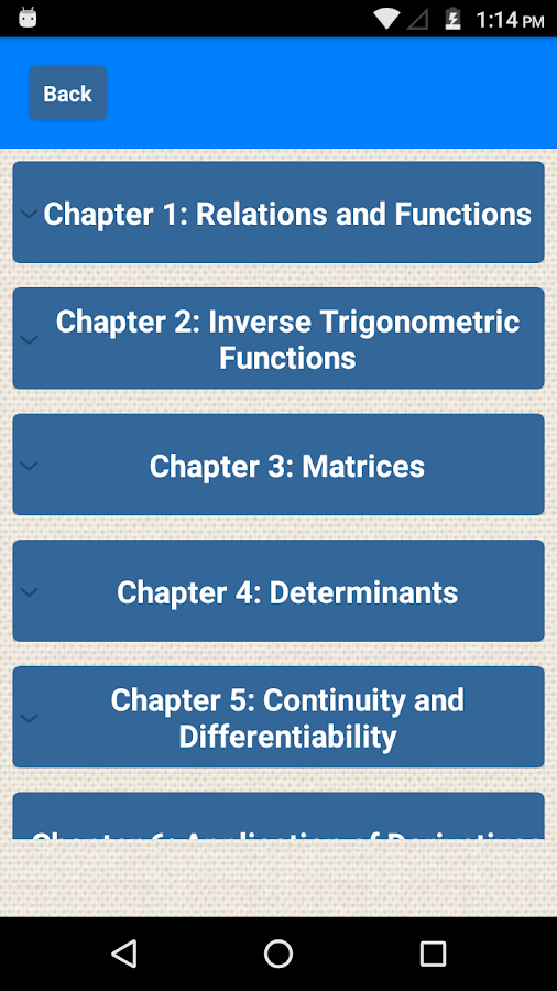Class 12 Maths NCERT Solutions 0 3 APK Download - Android