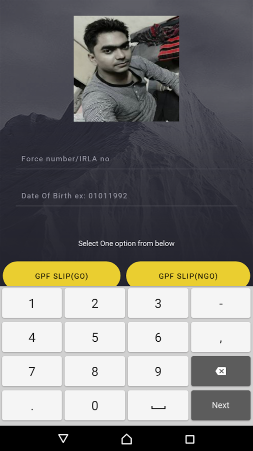 CRPF  GPF SLIP 1 0 APK Download - Android Personalization Apps