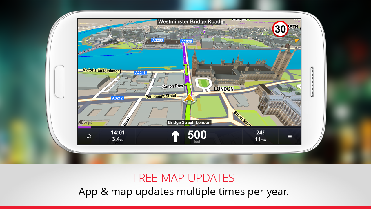 GPS Navigation & Traffic Sygic 14.3.0 APK Download - Android Travel ...