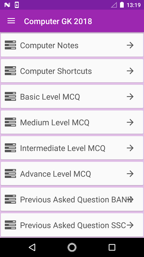 Computer GK 2018 1 3 APK Download - Android Education Apps