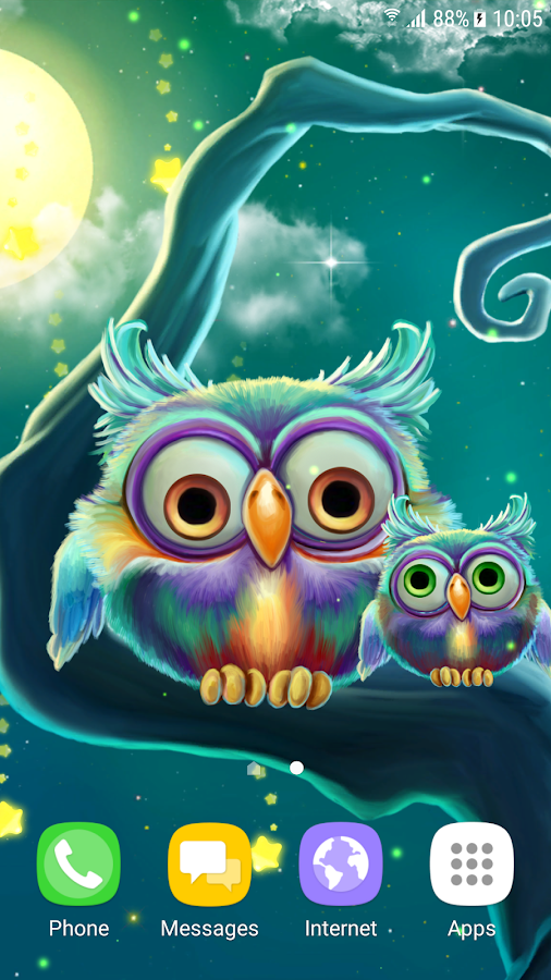 Cute Owls Live Wallpaper 108 Apk Download Android
