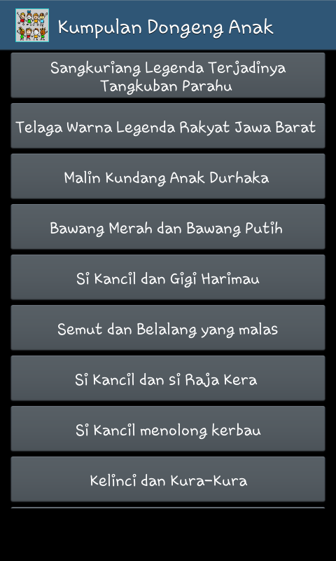 Kumpulan Dongeng Anak 1 0 Apk Download Android Books Reference Apps