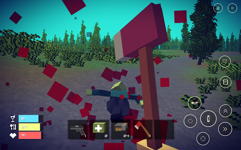 Pixel Day - Unturned Z 1.03 screenshot 15